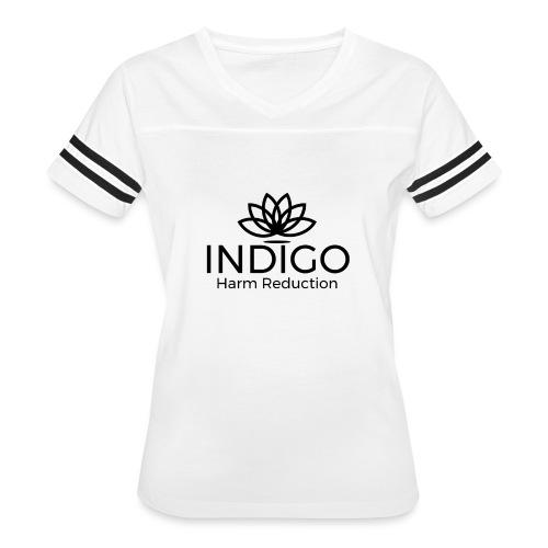 Black full logo - Women's Vintage Sport T-Shirt