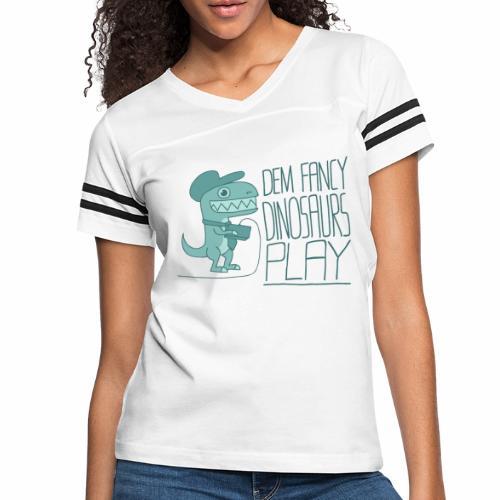 Dem Fancy Games transparent - Women's Vintage Sport T-Shirt