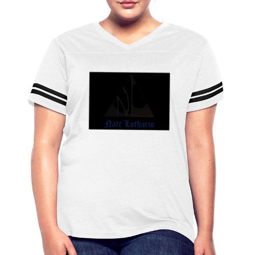 Black Logo - Women's Vintage Sport T-Shirt