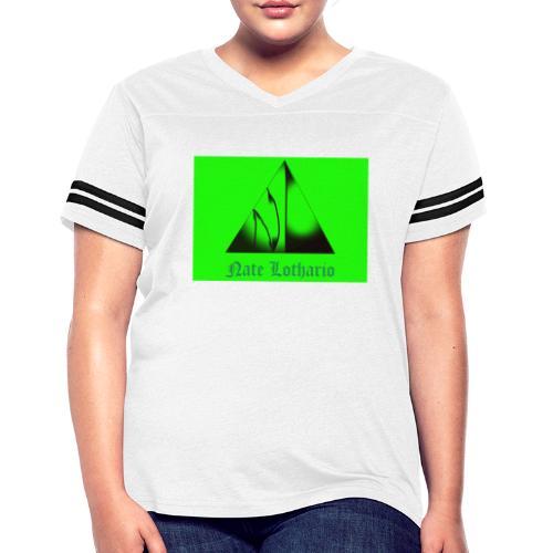 Lime Green Logo - Women's Vintage Sport T-Shirt