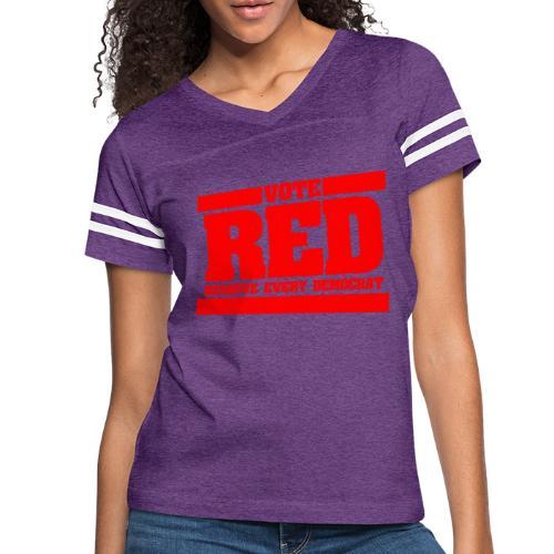 Remove every Democrat - Women's Vintage Sport T-Shirt