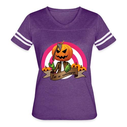 I'm A Unicorn Halloween - Women's Vintage Sport T-Shirt