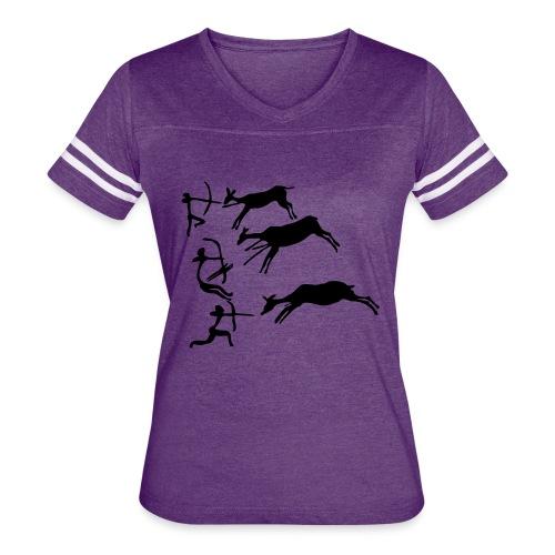 Lascaux Cave Painting - Women's Vintage Sport T-Shirt