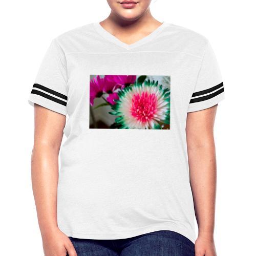 Flowery Words! - Women's Vintage Sport T-Shirt