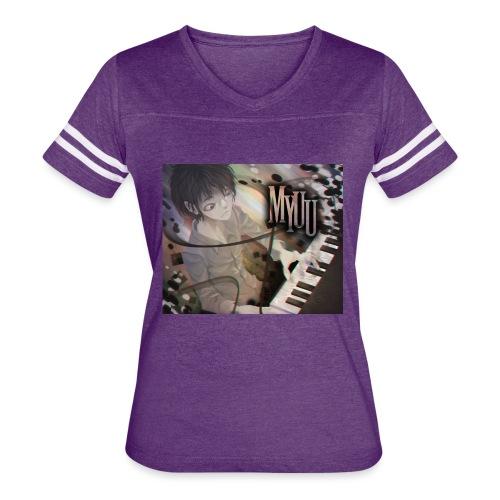 Dark Piano 1 - Women's Vintage Sport T-Shirt