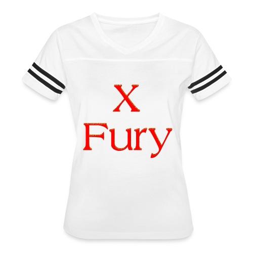X Fury - Women's Vintage Sport T-Shirt