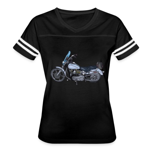 Motorcycle L - Women's Vintage Sport T-Shirt