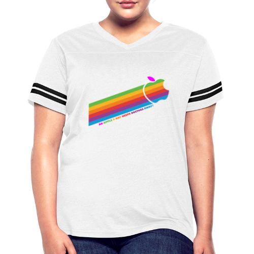 Apple a Day keeps Doctors away - Women's Vintage Sports T-Shirt