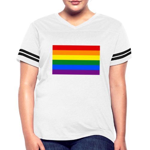 LGBT pride clothes - Women's Vintage Sports T-Shirt
