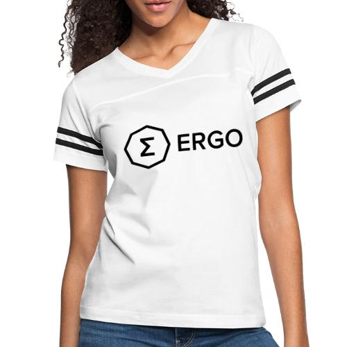 Ergo Symbol with Name - Women's Vintage Sport T-Shirt
