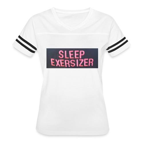 Sleep Exersizer Words - Women's Vintage Sport T-Shirt