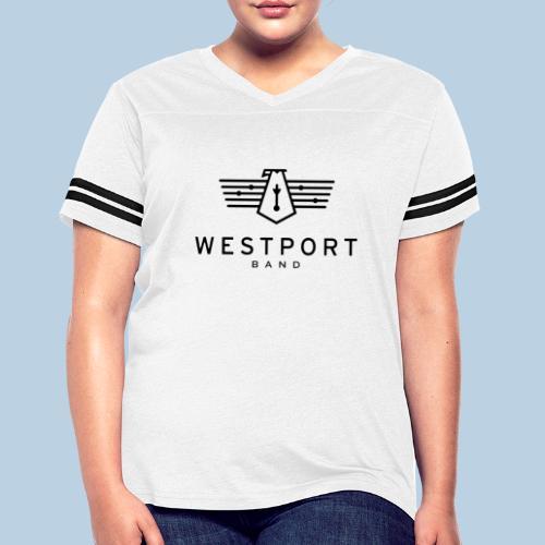 Westport Band Back on transparent - Women's Vintage Sport T-Shirt
