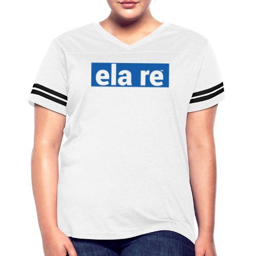 ela re - Women's Vintage Sports T-Shirt