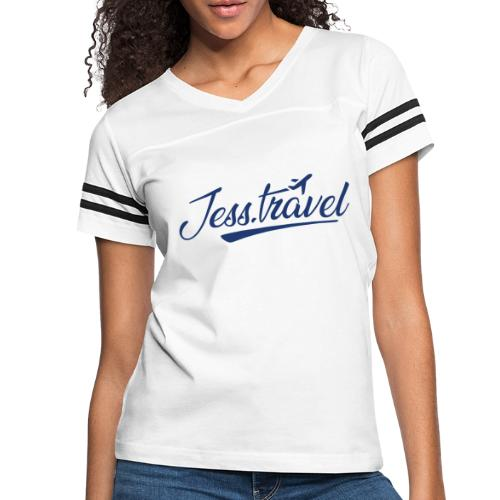 Jess Travel Logo LARGE Reverse - Women's Vintage Sports T-Shirt