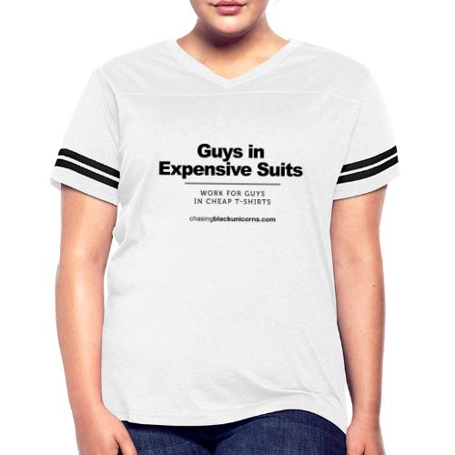 Guys in Expensive Suits - Women's Vintage Sport T-Shirt