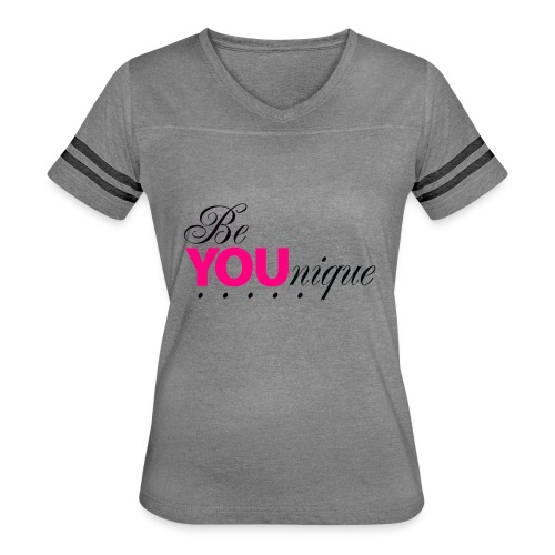 Be Unique Be You Just Be You - Women's Vintage Sport T-Shirt