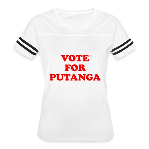 Vote For Putanga - Women's Vintage Sport T-Shirt