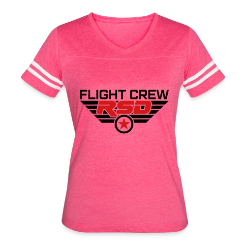 RSD Flight Crew - Women's Vintage Sport T-Shirt
