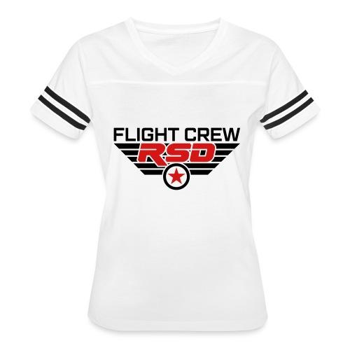 RSD Flight Crew - Women's Vintage Sport T-Shirt