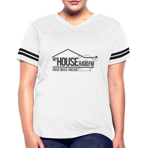 My House Radio Black Logo - Women's Vintage Sport T-Shirt