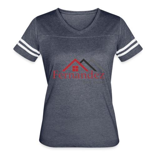 Fernandez Real Estate - Women's Vintage Sport T-Shirt