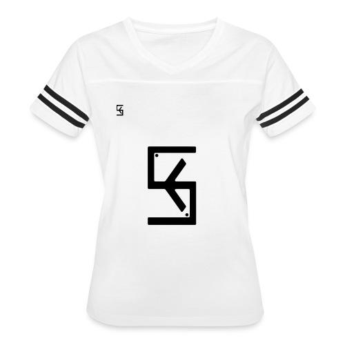 Soft Kore Logo Black - Women's Vintage Sport T-Shirt