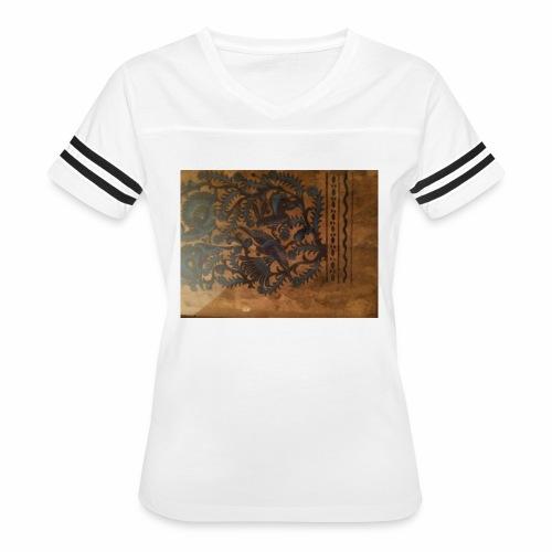 Dilfliremanspiderdoghappynessdogslikeitverymuchtha - Women's Vintage Sport T-Shirt