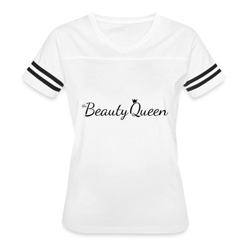 The Beauty Queen Range - Women's Vintage Sport T-Shirt