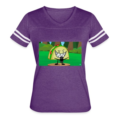 EVIL TACO ha - Women's Vintage Sport T-Shirt