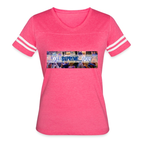 XXI SUPREME GOKU LOGO 2 - Women's Vintage Sport T-Shirt