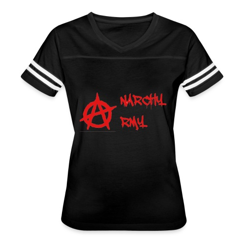 Anarchy Army LOGO - Women's Vintage Sport T-Shirt