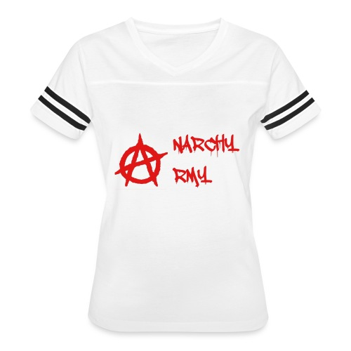 Anarchy Army LOGO - Women's Vintage Sport T-Shirt