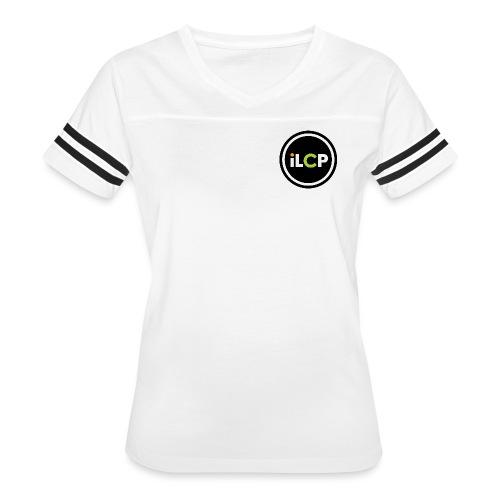 iLCP logo circle - Women's Vintage Sport T-Shirt