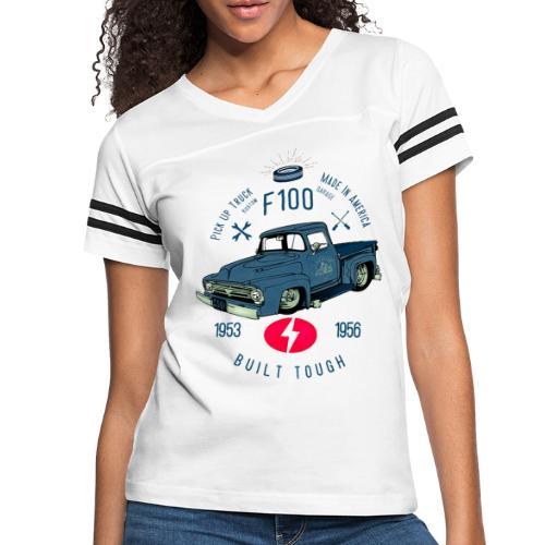 F100 Built Tough - Women's Vintage Sports T-Shirt