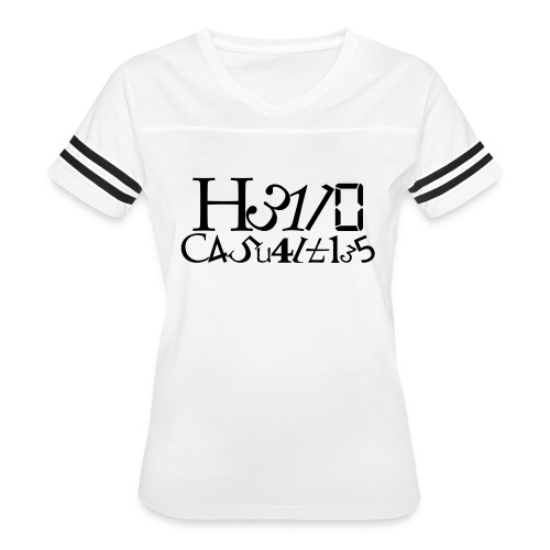 Hello Casualties Leet - Women's Vintage Sport T-Shirt