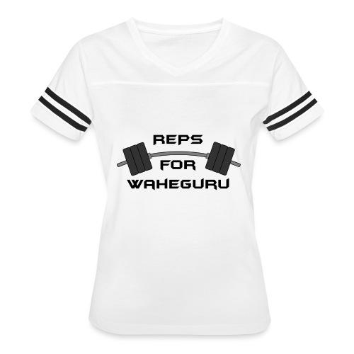 REPS FOR WAHEGURU - Women's Vintage Sport T-Shirt