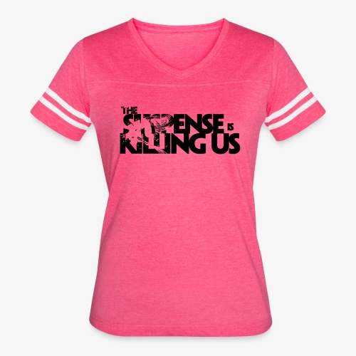 Suspense Is Killing Us Logo Black - Women's Vintage Sport T-Shirt