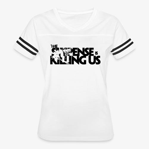 Suspense Is Killing Us Logo Black - Women's Vintage Sport T-Shirt