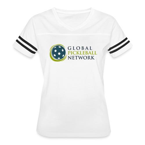 Global Pickleball Network on White - Women's Vintage Sport T-Shirt