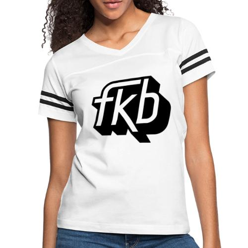 FKB Women's Retro - Women's Vintage Sport T-Shirt
