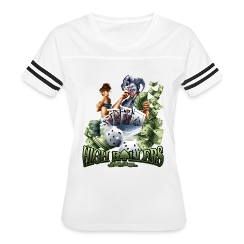 High Roller by RollinLow - Women's Vintage Sport T-Shirt