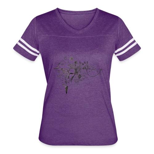 Grit Harbour Logo shirt - Women's Vintage Sport T-Shirt