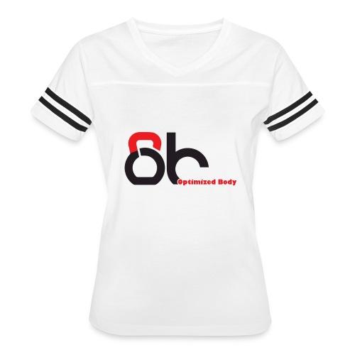 Logo Optimized Body - Women's Vintage Sport T-Shirt