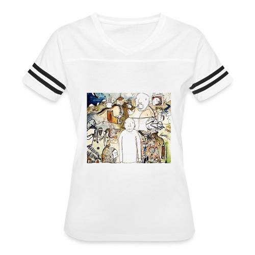 Stranger Album Art - Women's Vintage Sport T-Shirt