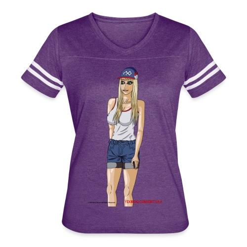 Gina Character Design - Women's Vintage Sport T-Shirt