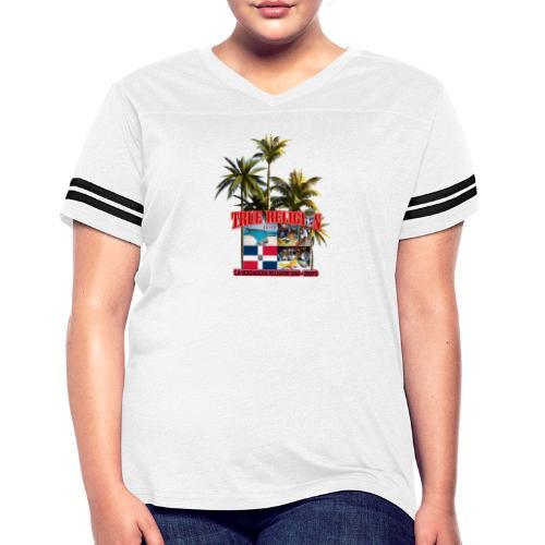 TRUE RELIGION DR INSPIRED - Women's Vintage Sport T-Shirt