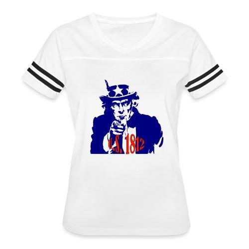 uncle-sam-1812 - Women's Vintage Sport T-Shirt