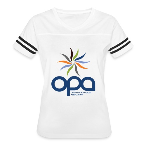 Short-sleeve t-shirt with full color OPA logo - Women's Vintage Sport T-Shirt