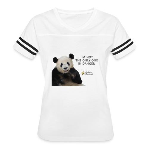 Endangered Pandas - Josiah's Covenant - Women's Vintage Sport T-Shirt