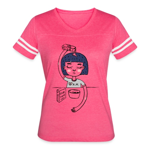 Milk and cereals in the morning - Women's Vintage Sport T-Shirt